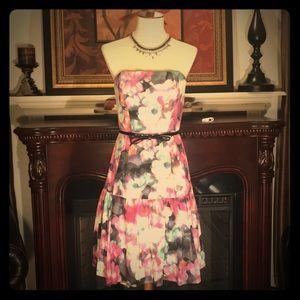 🌸🌺🌼 Cynthia Steffe Strapless Dress 🌸🌺🌼